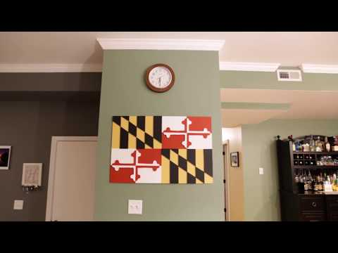 Maryland Flag Wood Project