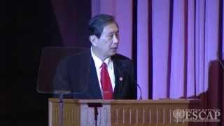 ESCAP 69th Commission Session: H.E. Dr. Plodprasop Suraswadi, Deputy PM of Thailand