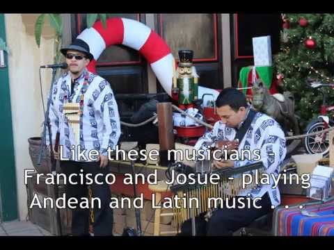 Andean Rhythms and Latin Music at Old Town San Diego