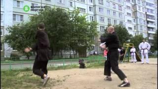 Урок самообороны провели вологодские каратисты на площадке «Города детства»