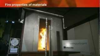 видео Пожаробезопасность сэндвич-панелей