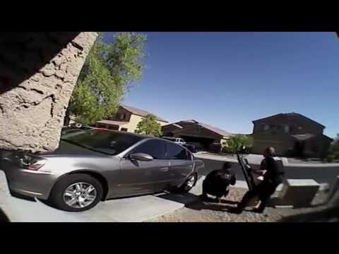 DISCRETION ADVISED: Police body cam raw video shows gunfight in Buckeye