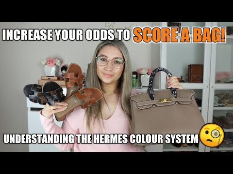 101 OF HERMES COLOURS INCREASE YOUR ODDS OF SCORING A BIRKIN OR KELLY AT THE BOUTIQUE