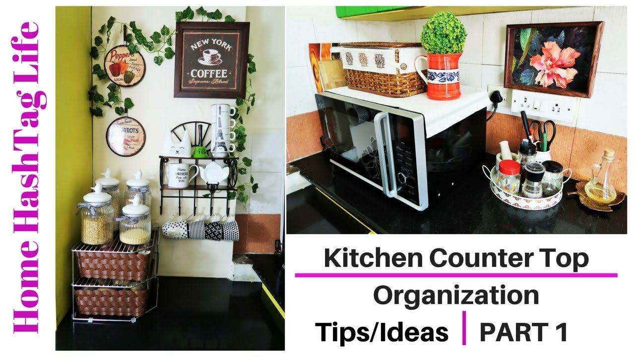 Indian Kitchen Organization Countertop Organization Ideas Home Hashtag Life