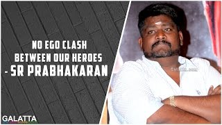 No ego clash between our heroes - SR Prabhakaran at Graghanam Music Launch