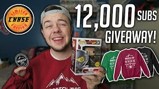 12,000 Subscriber Funko Pop Giveaway! (2 Prizes, Chase Pop)