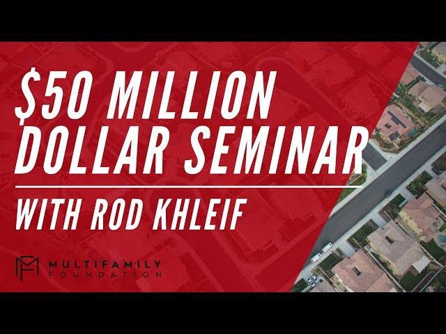 $50 Million Dollar Seminar