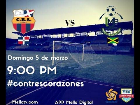 Monteo Bay United VS Club Barcelona Atlético | CFU Caribbean Club 2017 GROUP C