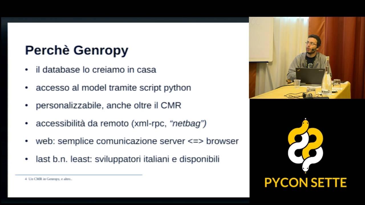 Image from Un CRM con Genropy e altro