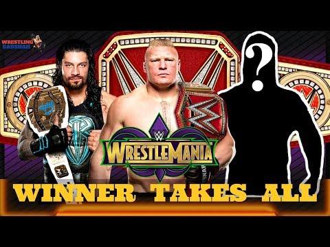 Huge WWE Superstar added to WRESTLEMANIA 34 Main Event??!!