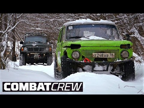 CombatCrew и OffroadSPB. Битва со льдом на Морье