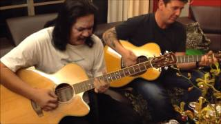 Mak Siti acoustic cover with sax - KL Blues.com