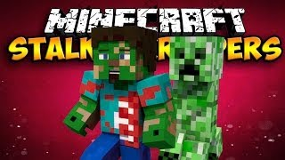 Stalker Creepers Mod - WATCH YOUR BACK! (Minecraft Mod Showcase)