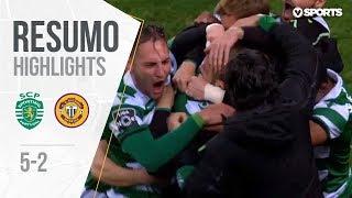 Highlights   Resumo: Sporting 5-2 Nacional (Liga 18/19 #13)
