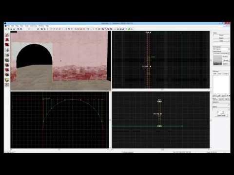 HAMMER: Advanced Tutorial #2 - Arches/Curves & func_details