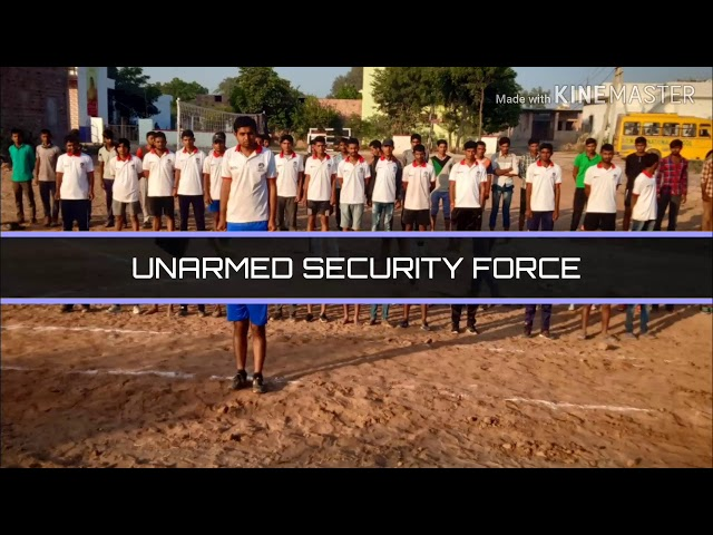 Unarmed security force second video