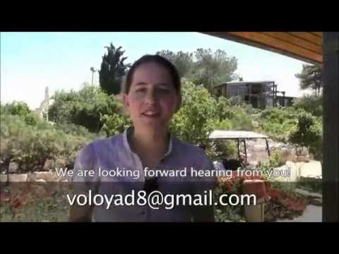 Volunteering in Yad Hashmona, Israel