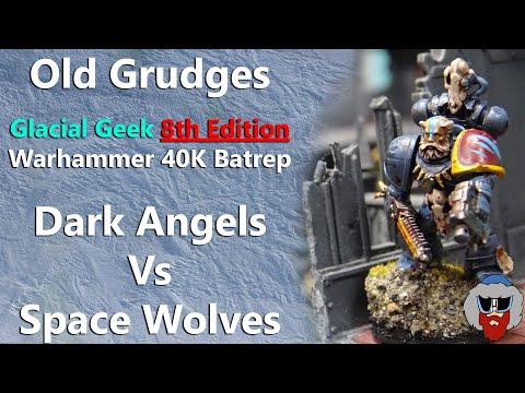 Space Wolves VS Dark Angels - Warhammer 40K Batrep - 2,000pts
