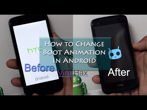 How To Change Boot Animation Android Youtube