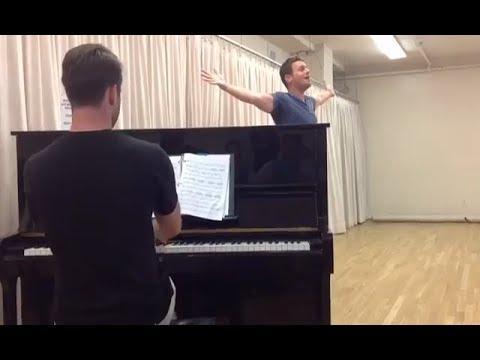 Jonathan Groff singing Stephen Sondheim's Being Alive