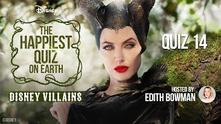 The Happiest Quiz on Earth | Quiz 14: Disney Villains (10/09/2020) | Official Disney UK