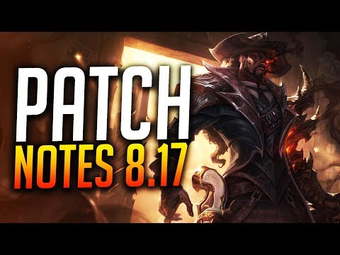 Patch notes 8.17 w/Scarra