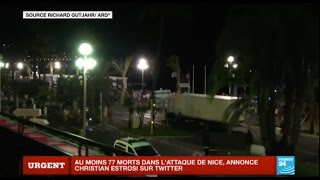 Images amateur - Attentat terroriste à Nice : Au moins 77 morts - Retour sur les faits