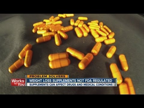 Supplements Unregulated