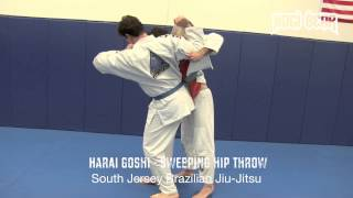 Hari Goshi Sweeping Hip Throw with Judo John of SJBJJ / RABJJ – Nogi Bear䋢 Instructional