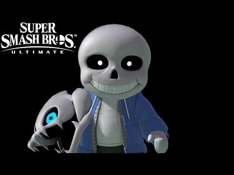 Super Smash Bros Ultimate Sans Reveal Trailer Nintendo Direct 2019