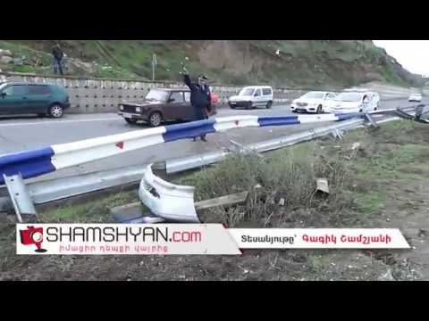 Խոշոր ավտովթար Երևան-Սևան ճանապարհին. 26-ամյա վարորդը Mercedes-ով գլխիվայր շրջվել է