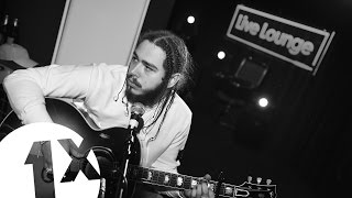 Post Malone 'White Iverson' in the Live Lounge for 1Xtra Mc Month