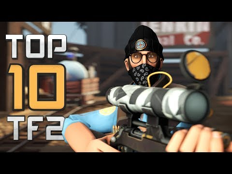 Top 10 TF2 plays - Aim Point Shoot Repeat