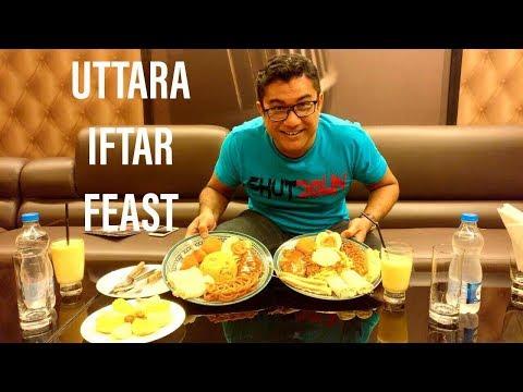 উত্তরার ইফতার বাজার - UTTARA IFTAR FEAST 2018 - Healthy Iftar - Dhaka - Bangladesh
