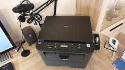 Brother DCP-L2520DW Drucker, Kopierer, Scanner, Laserdrucker, schwarz/weiss