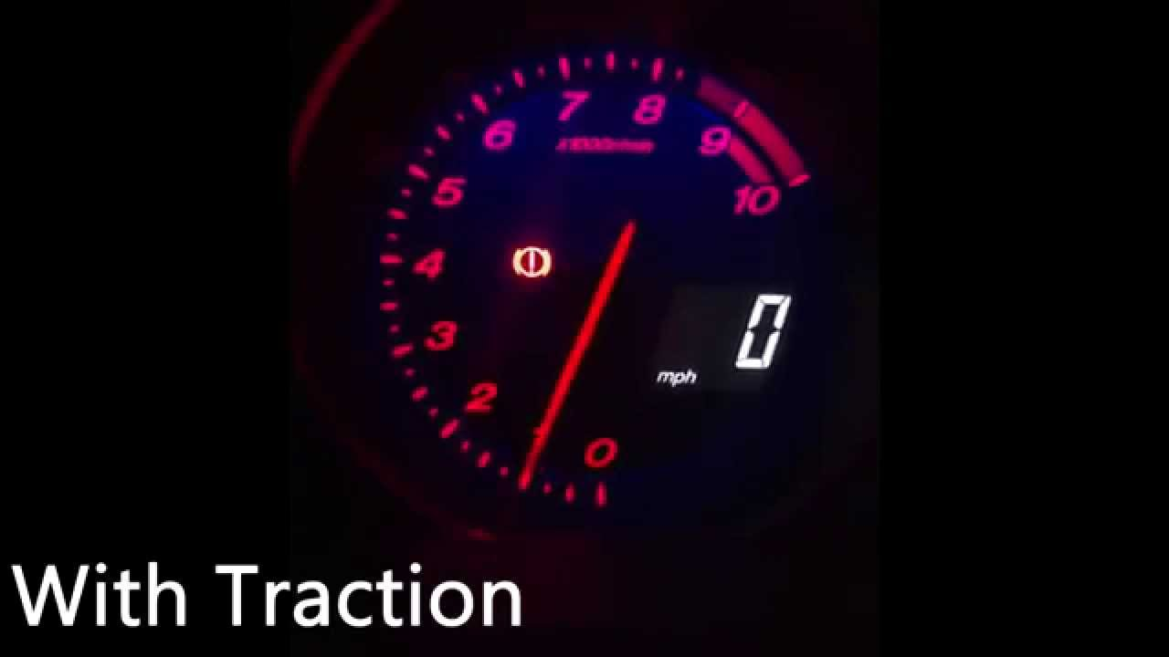 Mazda RX8 231PS - 0-60 mph Comparison with & without Traction ...