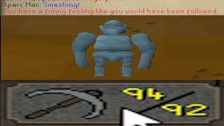 The Story of Geodude! (OSRS Mining Pet)