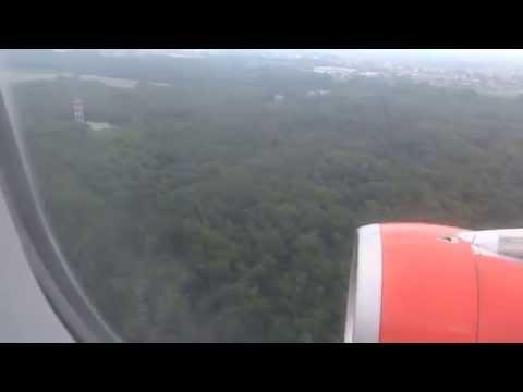 Atterraggio MILANO Malpensa da LARNACA Easyjet
