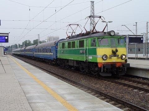"""""""Żółte Czoło"""" EP07-174 + TLK """"Kiev-Express"""""""