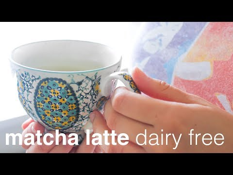 Dairy Free Matcha Latte | Clean, Green Living