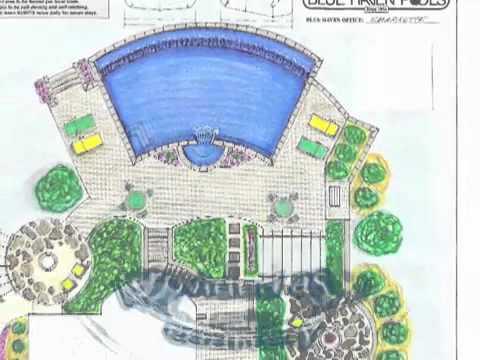 Inground Swimming Pool Designs Ideas For Backyard Ground Installtion. Pineville, NC