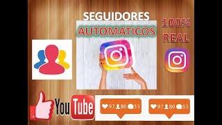 Seguidores en Instagram AUTOMATICAMENTE /sin seguir a nadie /sin monedas/ sin aplicaciones/  2017