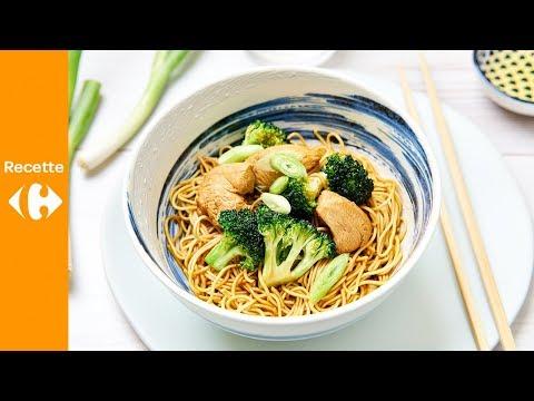 nouilles-au-poulet-et-brocoli