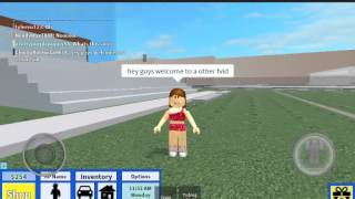 HOW to do a flip in roblox highschool