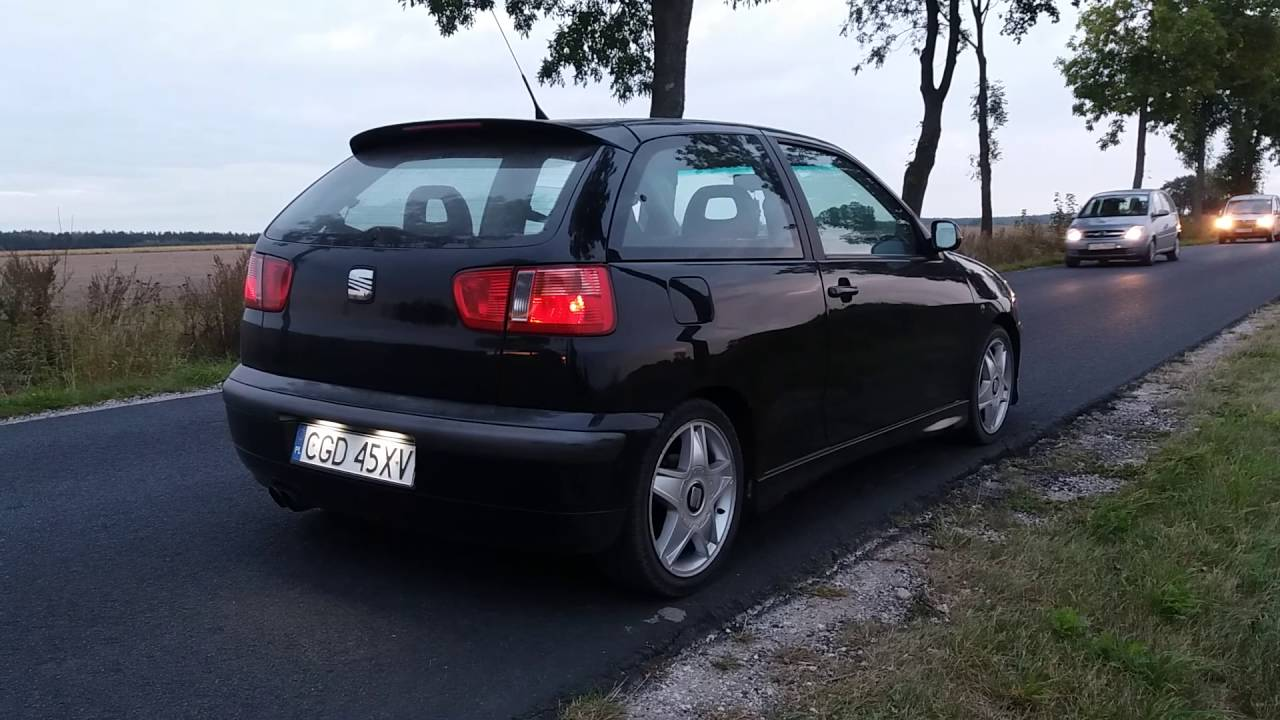 seat ibiza cupra 6k2 1 8t 2 5 decat exhaust sound youtube. Black Bedroom Furniture Sets. Home Design Ideas