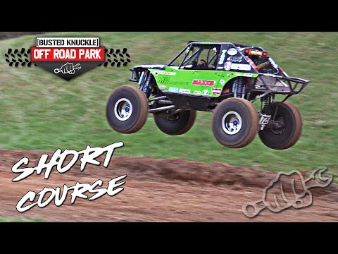 Pro Rock Survival Racing on the New Short Course Track at BKORP