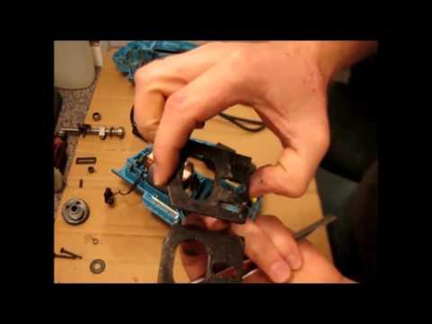 Ремонт электролобзика, не двигается шток пилкодержатель