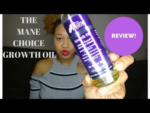 The Mane Choice Growth Oil Review Natural Hair Product   | Euniycemari