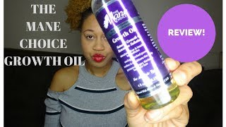 The Mane Choice Growth Oil Review Natural Hair Product   | Euniycemari