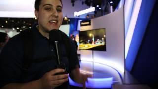 Panasonic World's Largest 4K OLED TV - CES 2013